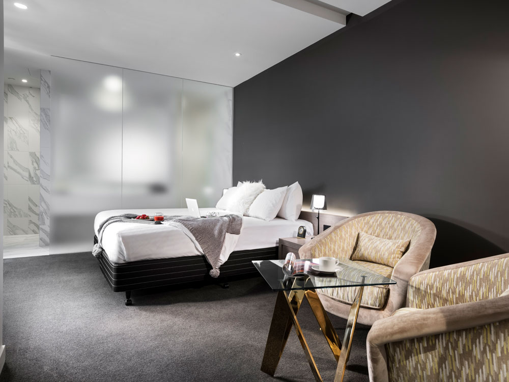 Courtyard Suite at The Melbourne Hotel in Perth