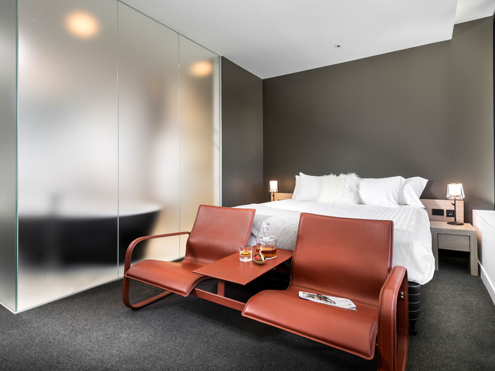 Deluxe Premier Room at The Melbourne Hotel in Perth
