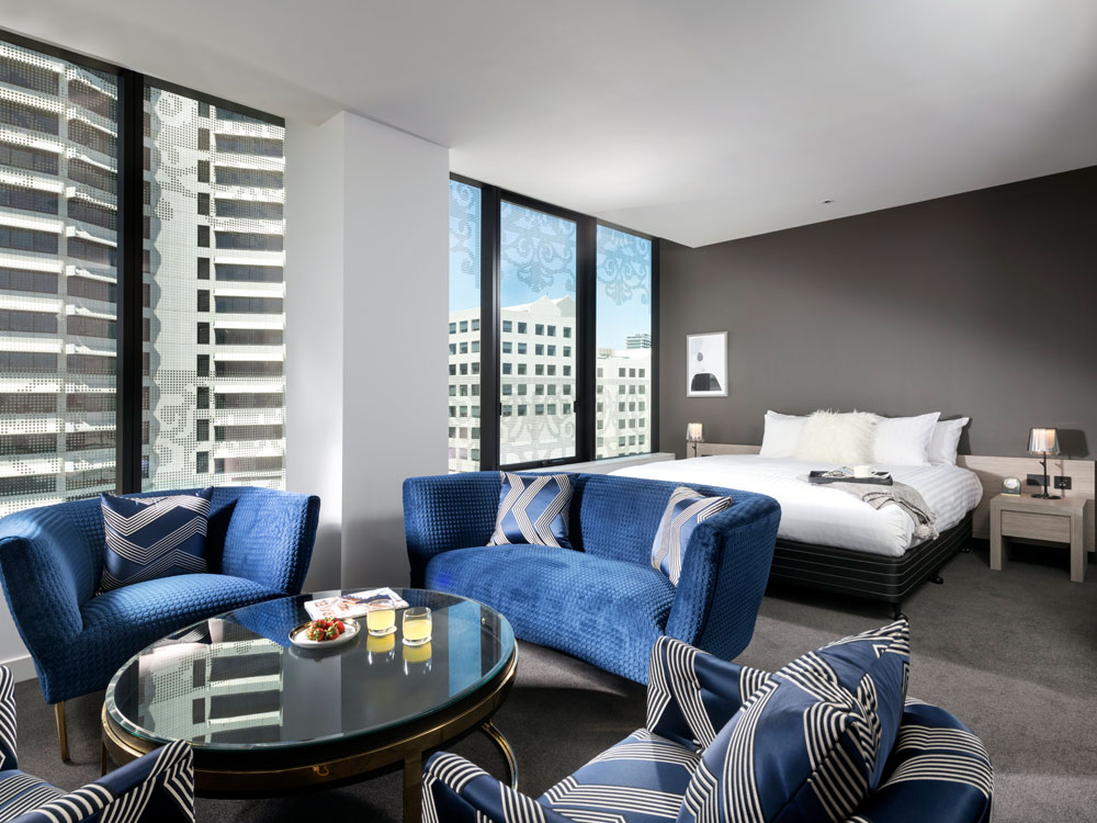 Premier Suite at The Melbourne Hotel in Perth