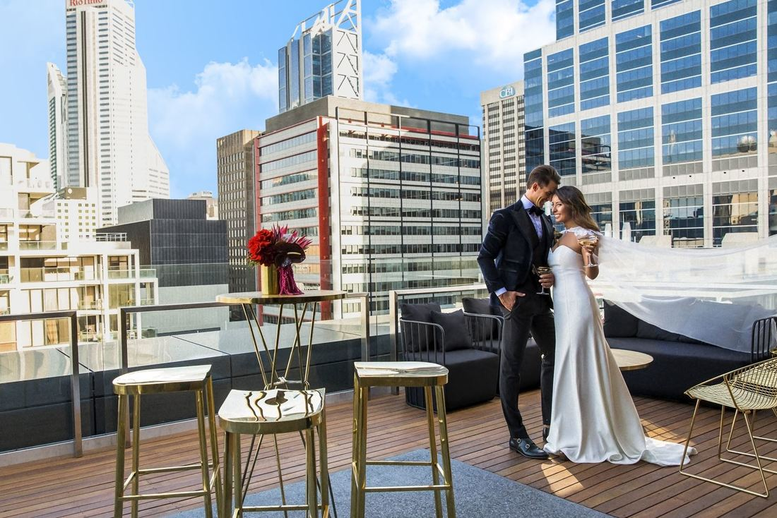 Weddings at The Melbourne Hotel in Perth